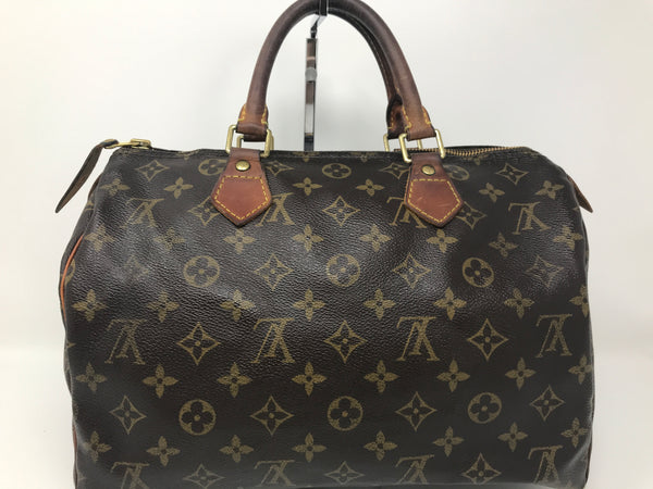 Louis Vuitton Monogram Speedy 30 Vintage