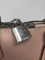 Louis Vuitton Epi Alma PM Rose Ballerine