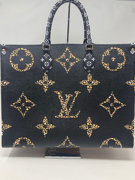 Louis Vuitton Onthego Jungle Noir