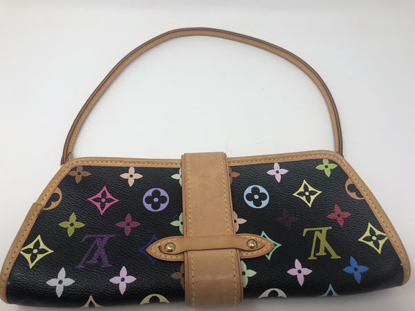 Louis Vuitton Multicolor Shirley Black
