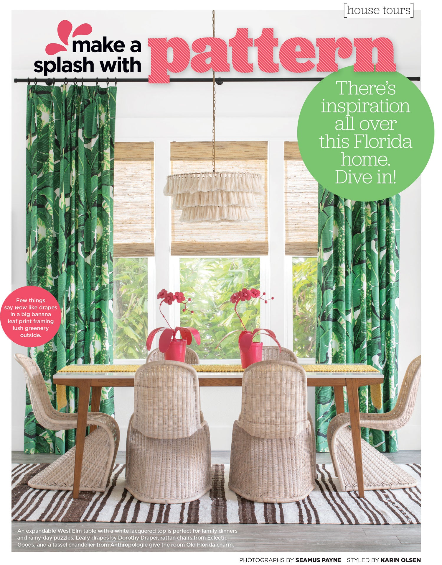 HGTV Magazine July August 2019