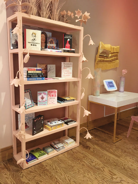 Barbie Bookshelf and desk