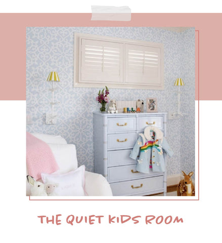 kids room with the Jen Sconce by Lauren Hood of Progeny Interiors