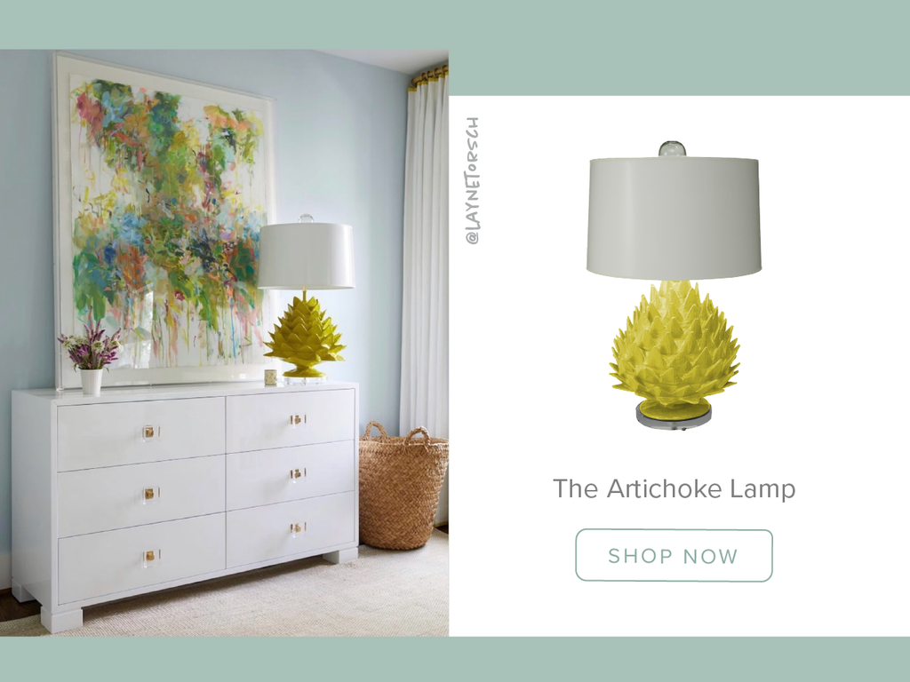 Stray Dog Designs Artichoke Table Lamp