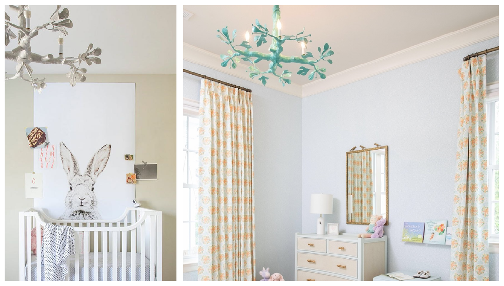 Stray Dog Designs Twiggy Chandelier - Nursery Lighting