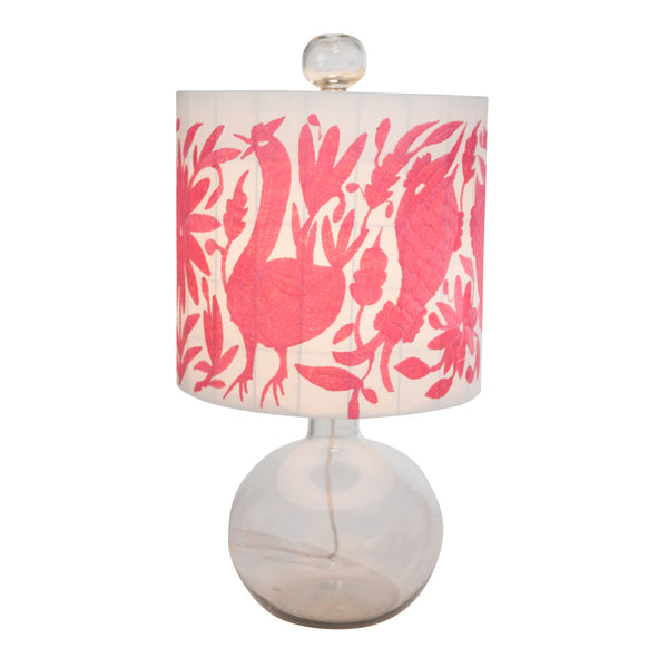 Otomi Shade on the Hunter Table Lamp