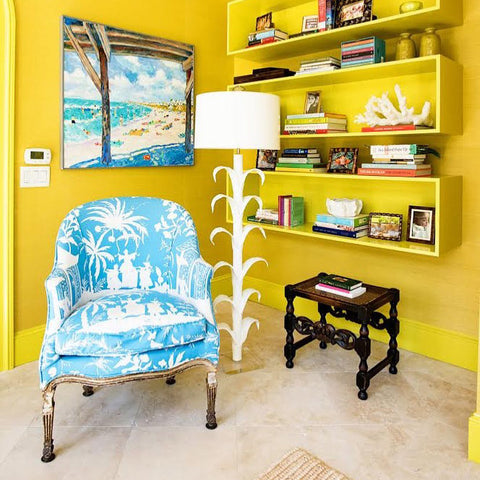 Room by Johnson Vann Interiors with the Aly Floor Lamp