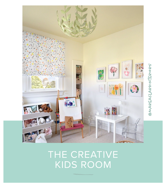 Stray Dog Designs Leonora Chandelier in a kids room designed by Marea Clark Interiors