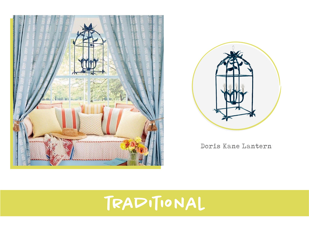 Stray Dog Designs Doris Kane Lantern in Traditional Interior Design Style