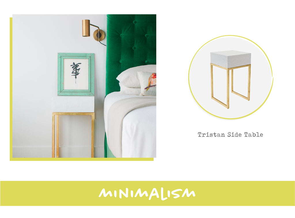 Stray Dog Tristan Table in Minimalist Interior Design Style
