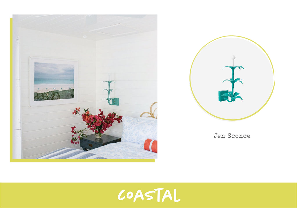Stray Dog Designs Jen Sconce in Coastal Interior Design Style
