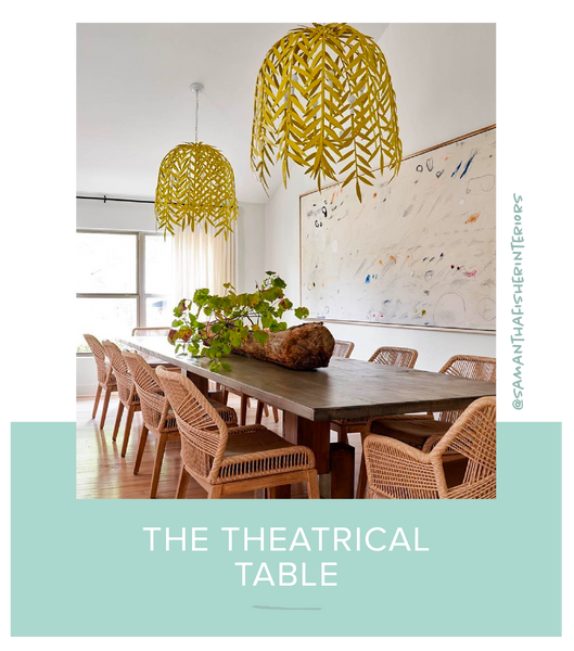 Dining Room Samantha Fisher Interiors Willow Chandelier