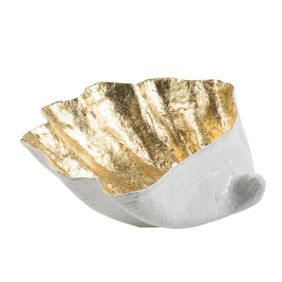 Gold Leaf clam shell