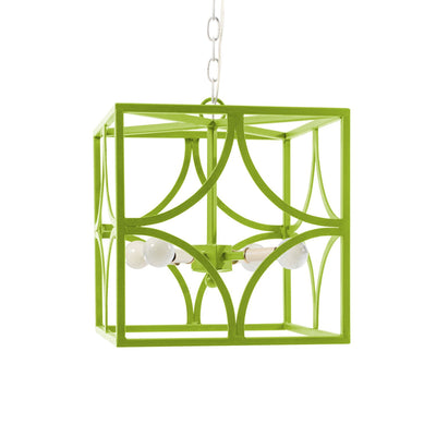 Geo Ceiling Light in green