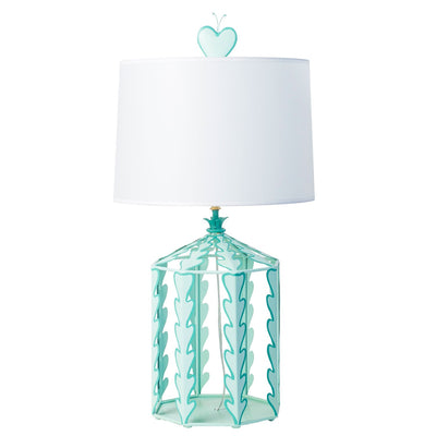Alice Table Lamp by Stray Dog Designs, aqua