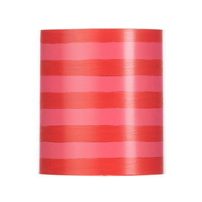 Striped Cylinder Chandelier Shade
