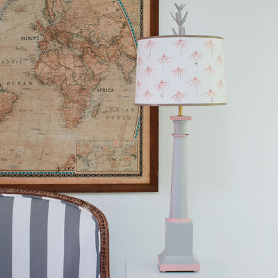 Erica table lamp by stray dog designs, tole column lamp