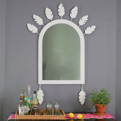 John Ross Feather Crown Mirror