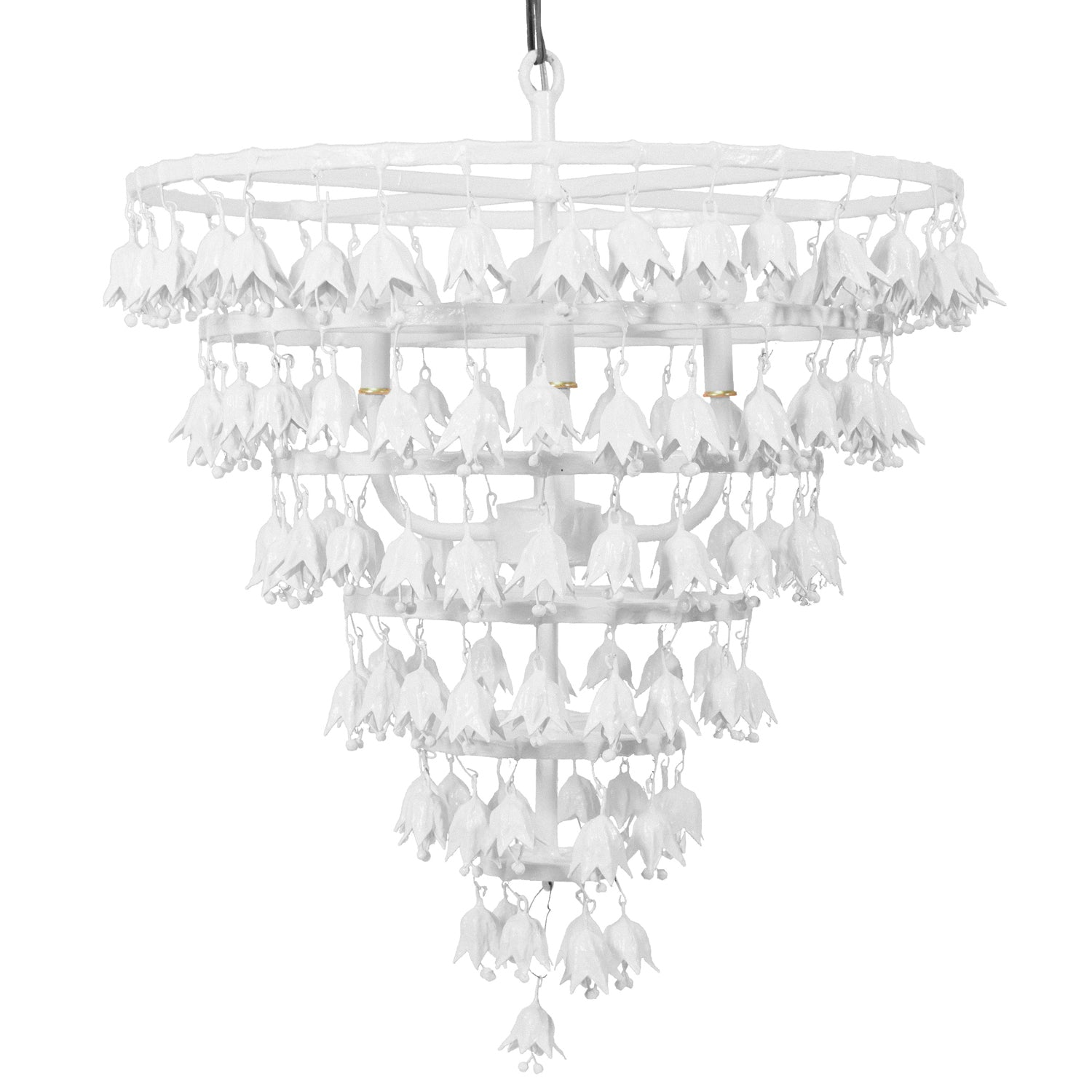 Meme Tulip Drop Chandelier