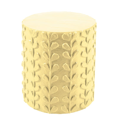 yellow and mellow Scandinavian inspired design stool