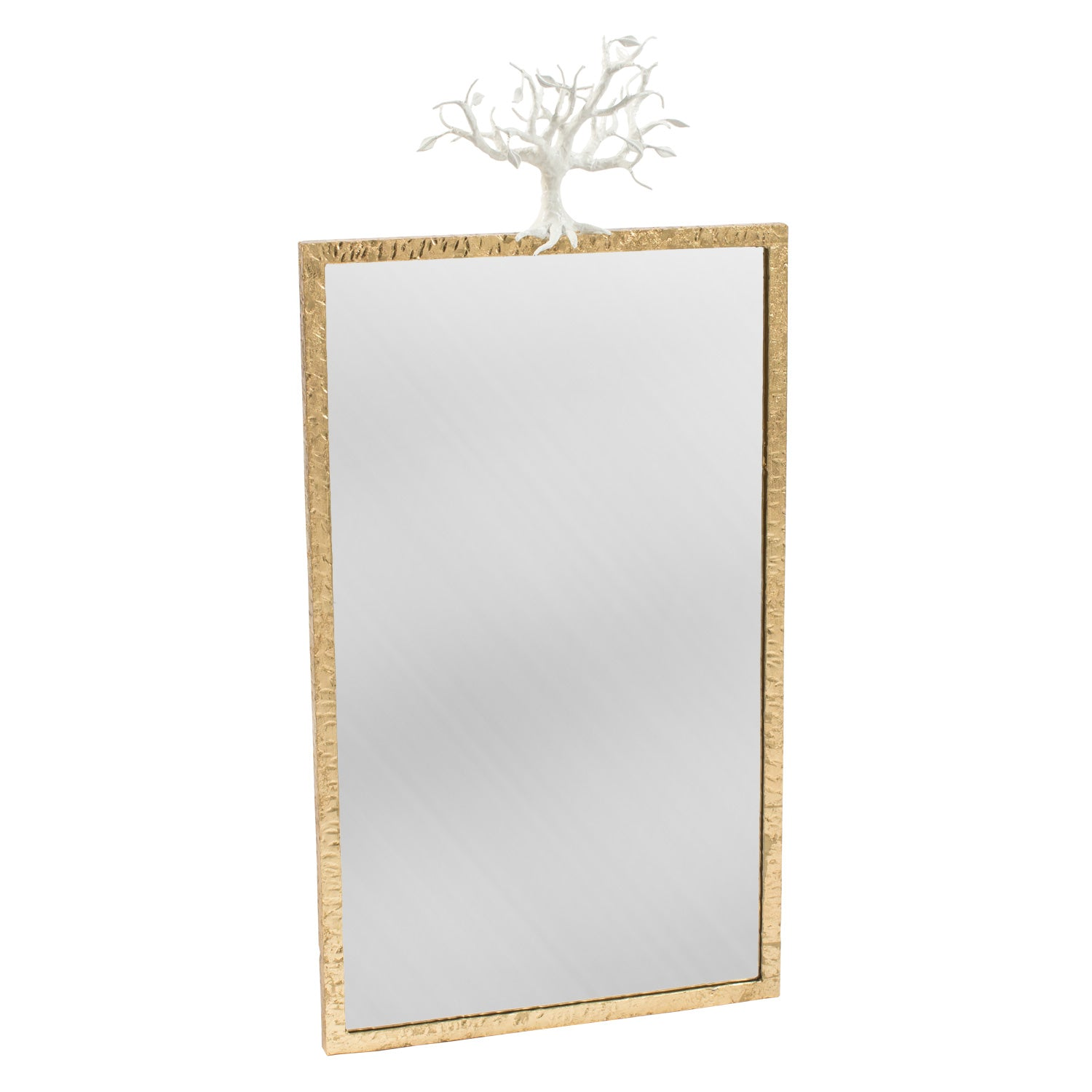 Designer Diego mirror with winter white tree