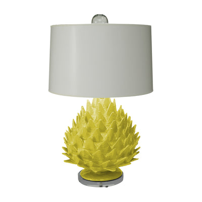 Papier Mache Artichoke Lamp, Handmade in Mexico for Stray Dog