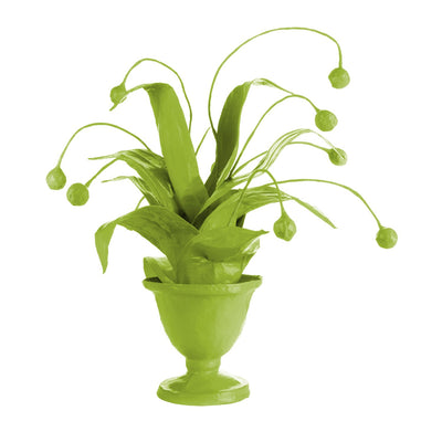 Crunchberry papier mache  houseplant  by Stray Dog Designs