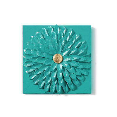 Dahlia Wall Tile Beautiful Blue Dahlia art