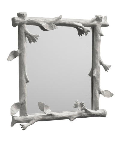 Funky Faux Bois Mirror by Stray Dog Designs