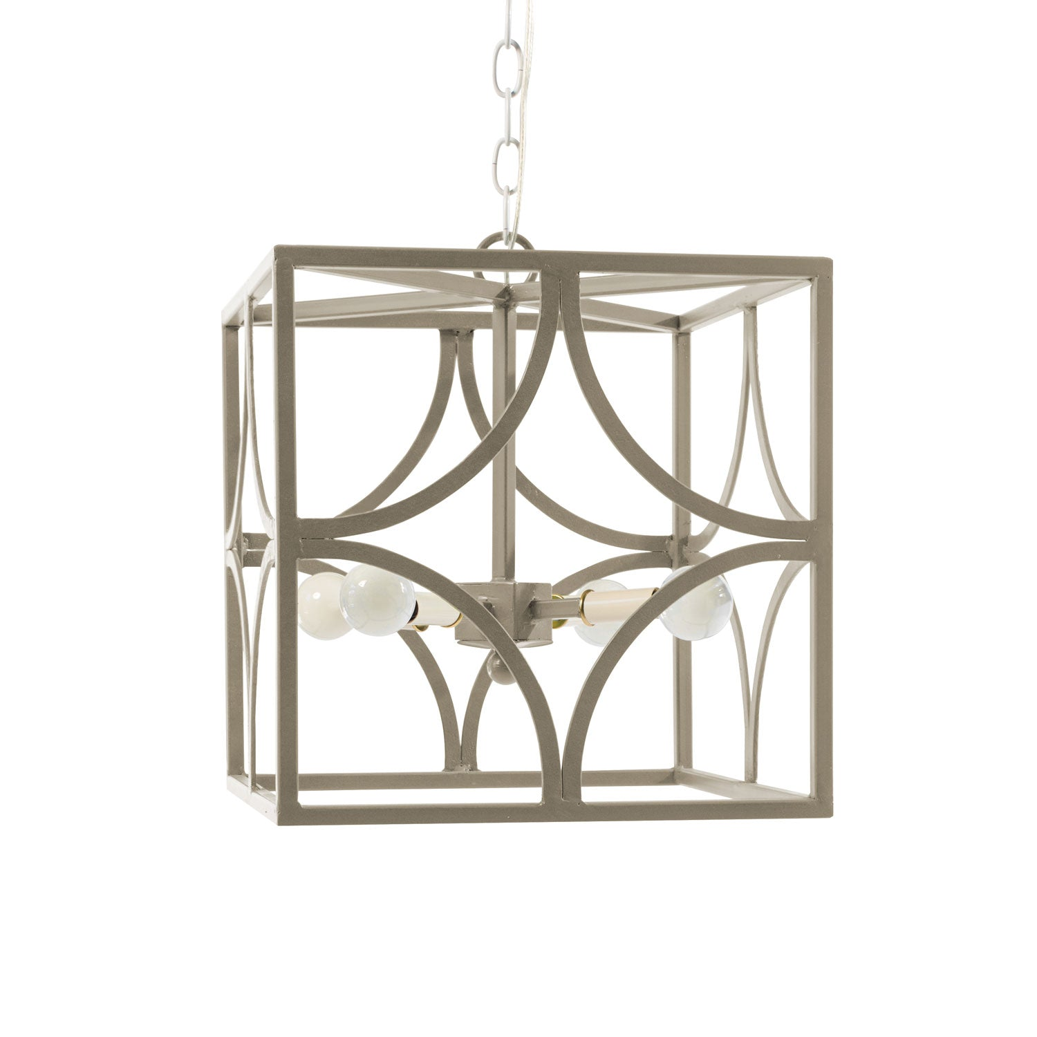 Iron Chandelier by Stray Dog Designs, made in Mexico