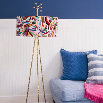 Otomi Floor Lamp-Multi