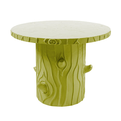 Funky Faux Bois Table papier mache