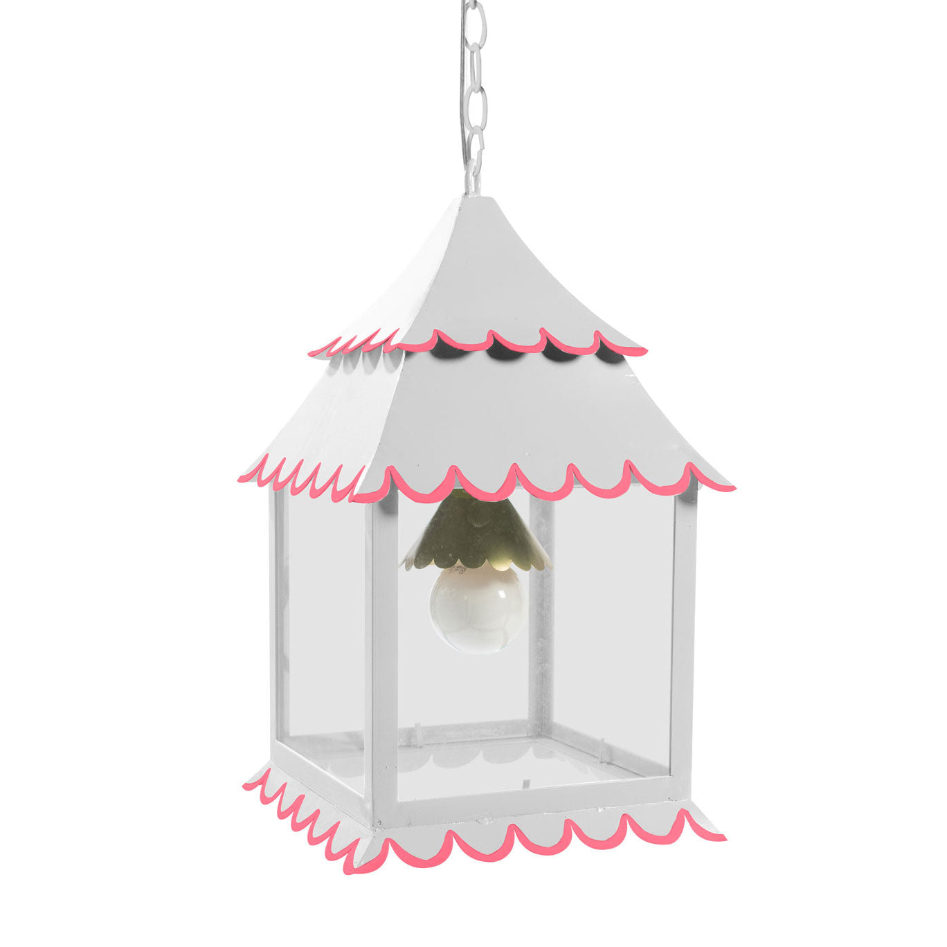 Little Girl Hanging Lantern