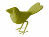 Papier Mache Love Bird in forest moss