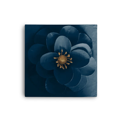 Camellia Flower Wall Tile, handmade in Mexico