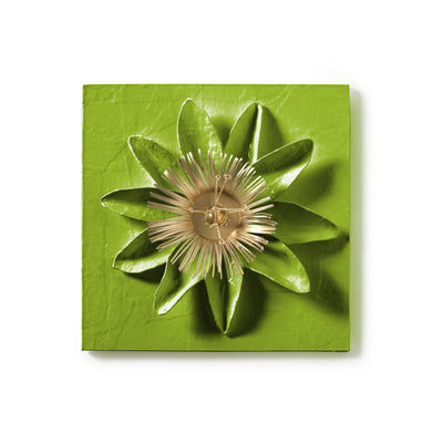 Passion Flower Wall Tile by Stray Dog designs