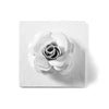 Rose Flower Wall Tile, handmade in Mexico