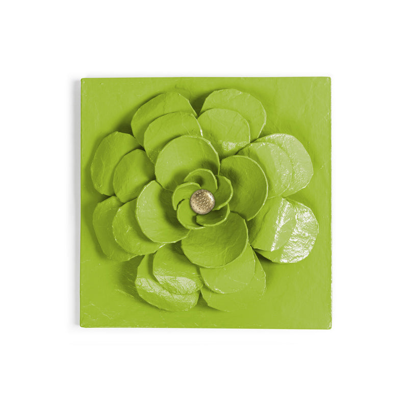 Zinnia Flower Wall Tile