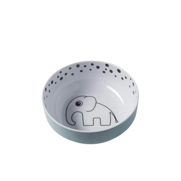 Done by Deer Happy Dots Yummy Bowl - Blue