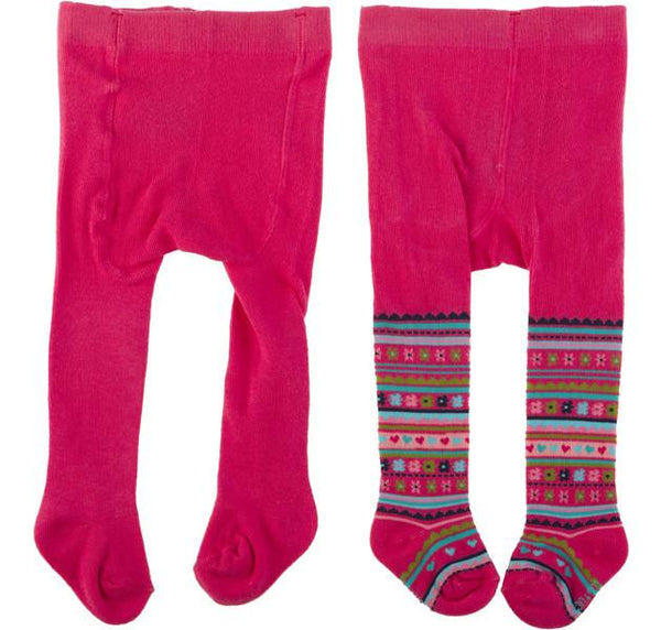 Tuc Tuc Tights 2 Pack Pink is Pink