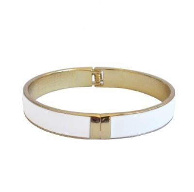 Add Hoc Mummy White Bangle