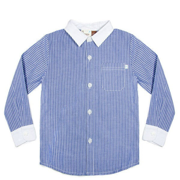 Axel & Hudson L/S Striped Shirt