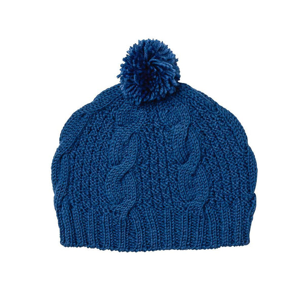 Acorn AW17 Cable Knit Beanie Teal