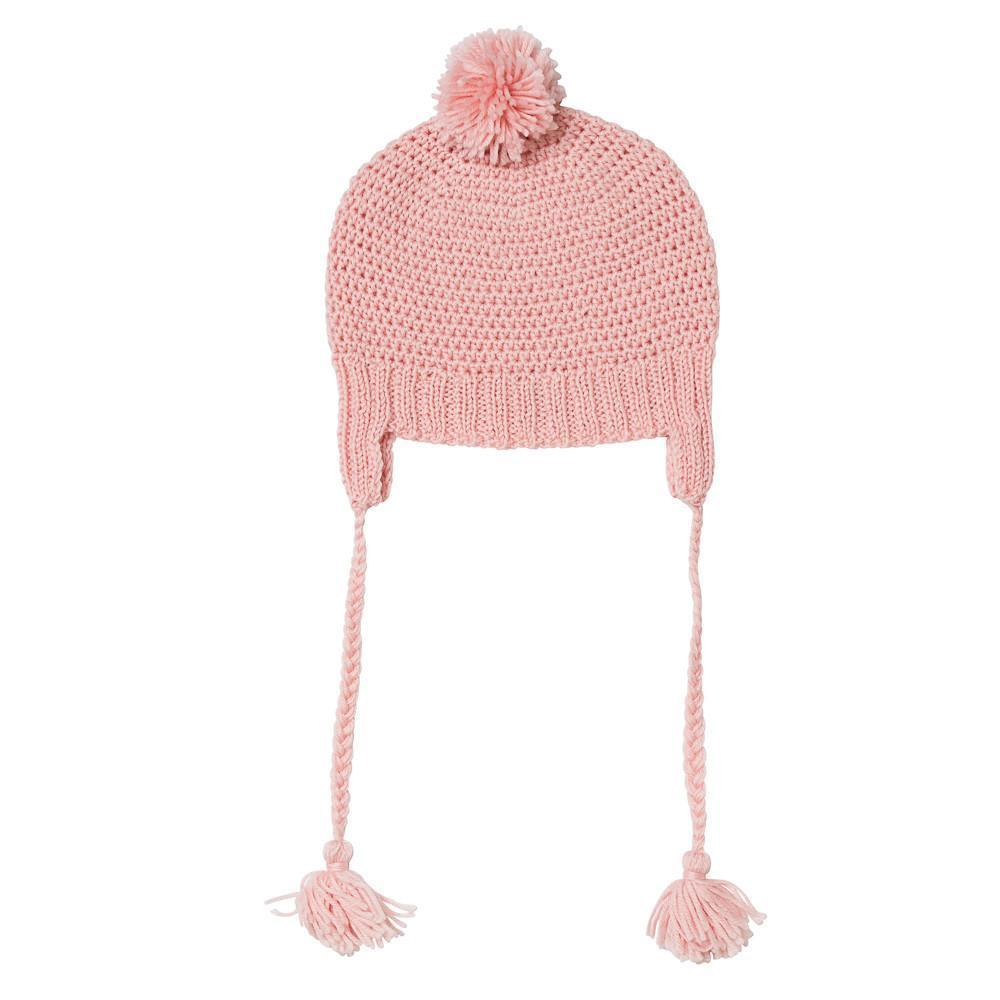 Acorn AW17 London Beanie Dusty Pink