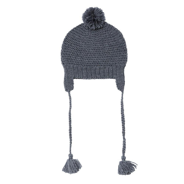 Acorn AW17 London Beanie Mid Grey