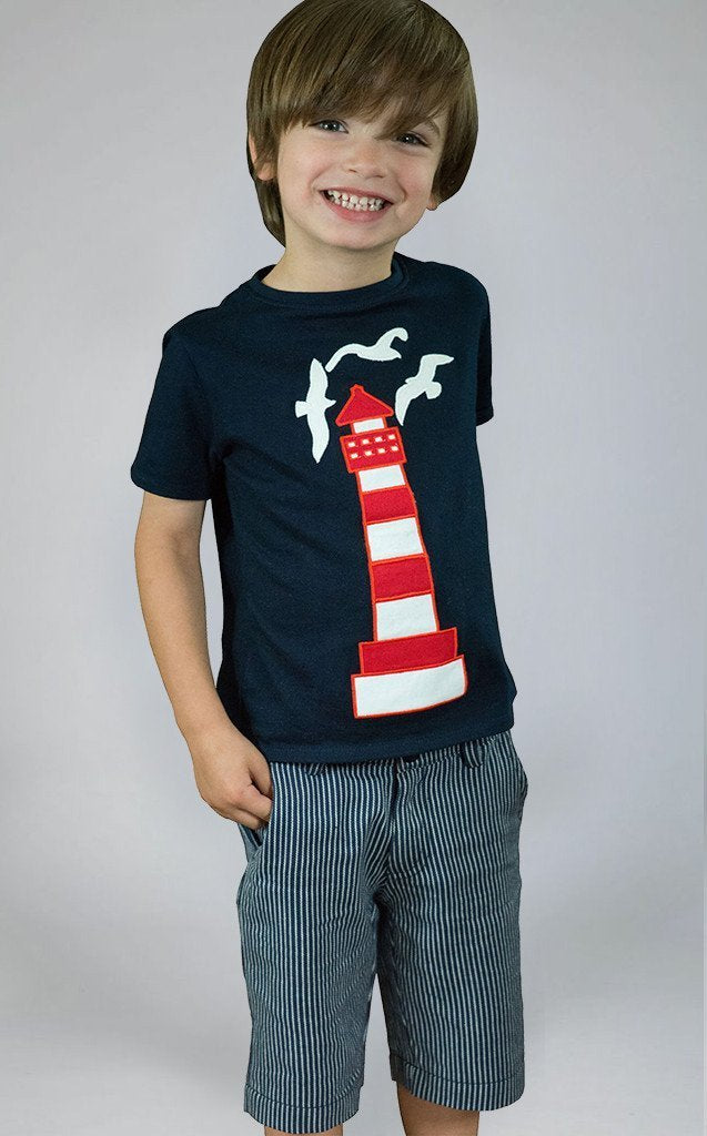 The Dragon and the Rabbit Lighthouse T Shirt