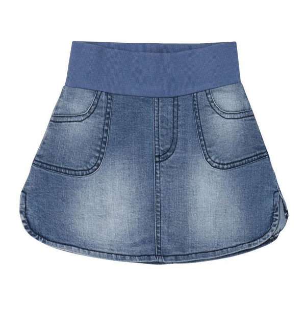 Baobab Washed Denim Skirt