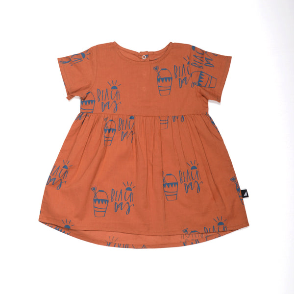 Anarkid (new season) Beach Day Woven Dress Rust