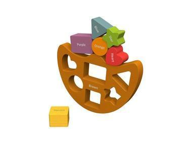 Begin Again Shape Sorter and Games