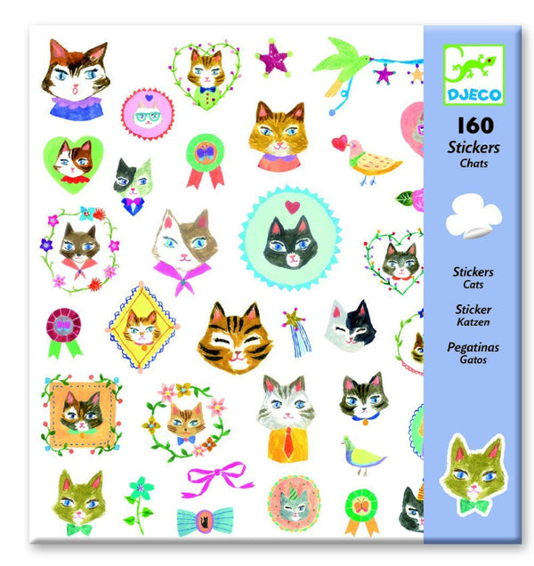 Djeco Stickers 160 Cats